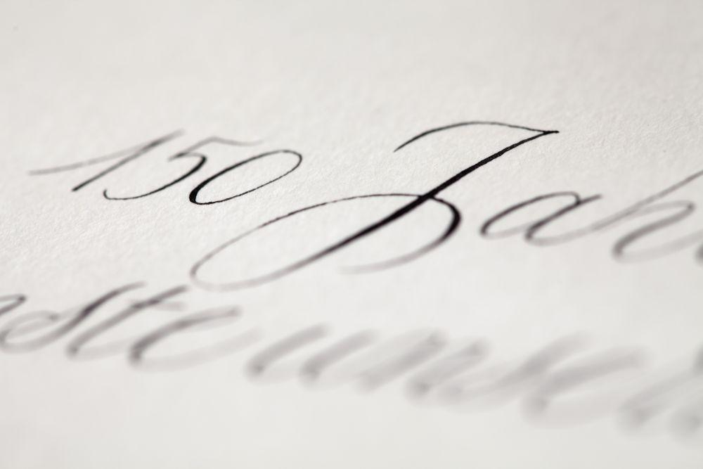 Kalligraphie - Einladungen 024