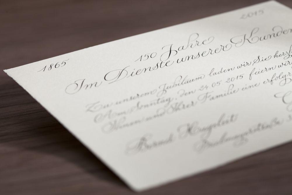Kalligraphie - Einladungen 026
