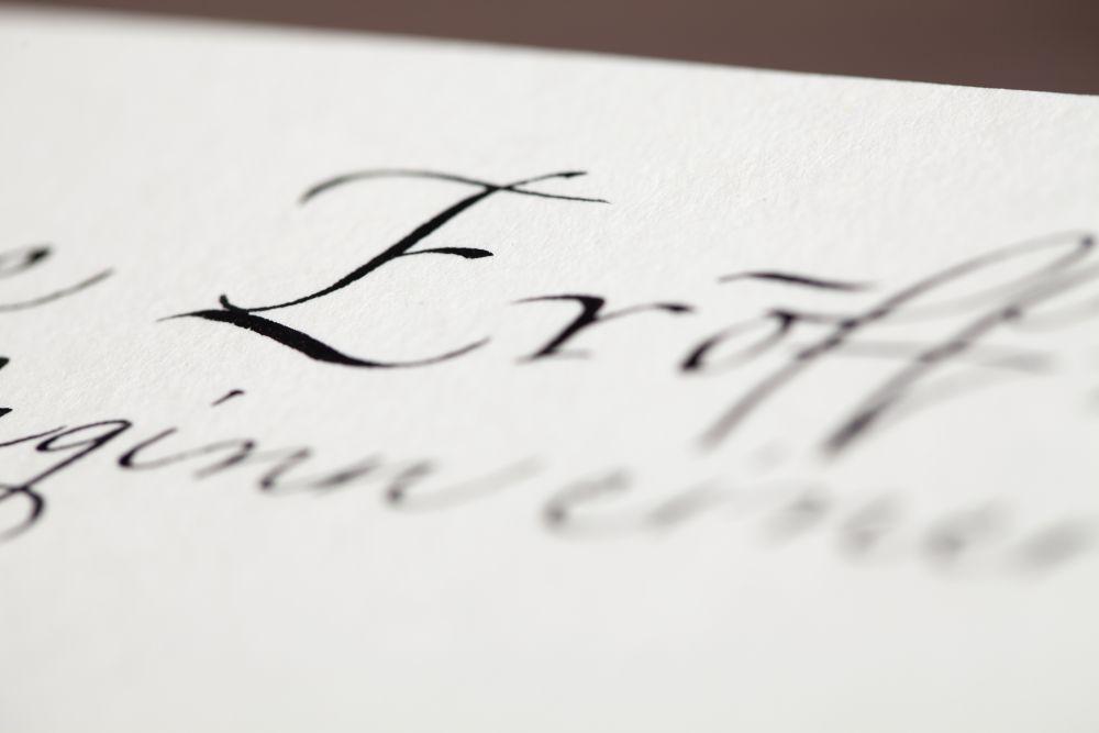Kalligraphie - Einladungen 029