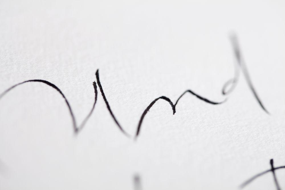 Kalligraphie - Freie Texte 015