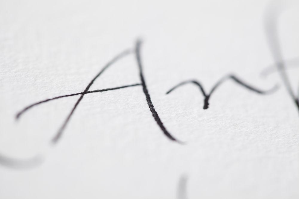 Kalligraphie - Freie Texte 017