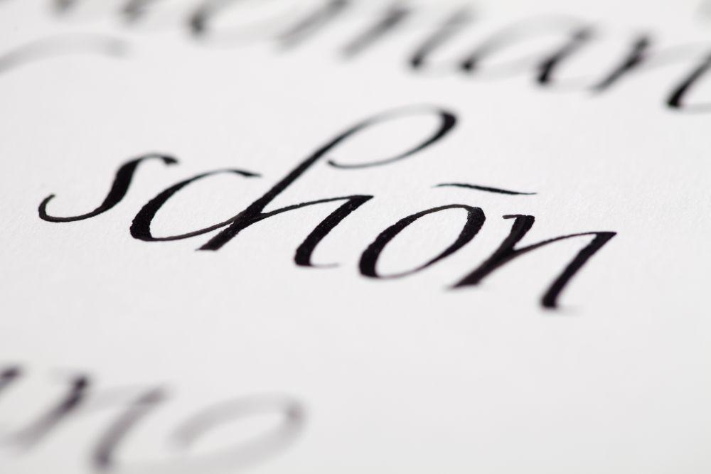 Kalligraphie - Freie Texte 023