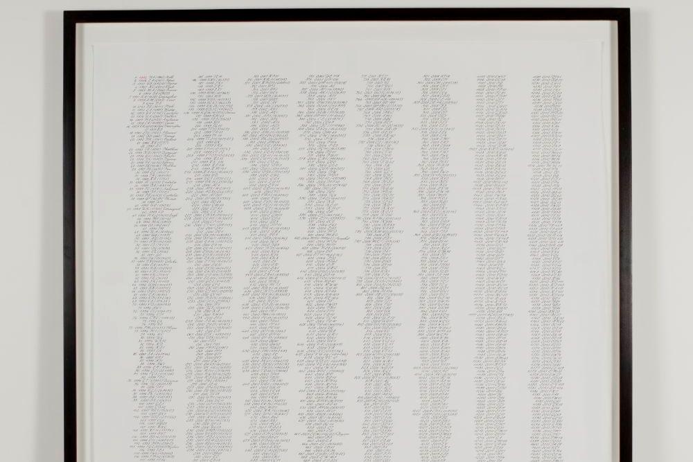 Kalligraphie - Kunstprojekte 016