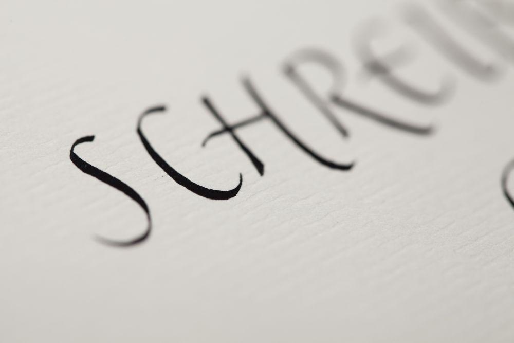 Kalligraphie - Schilder 012