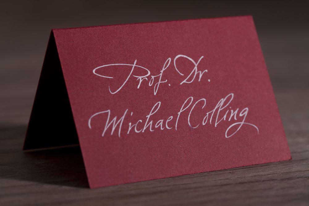 Kalligraphie - Tischkarten 015