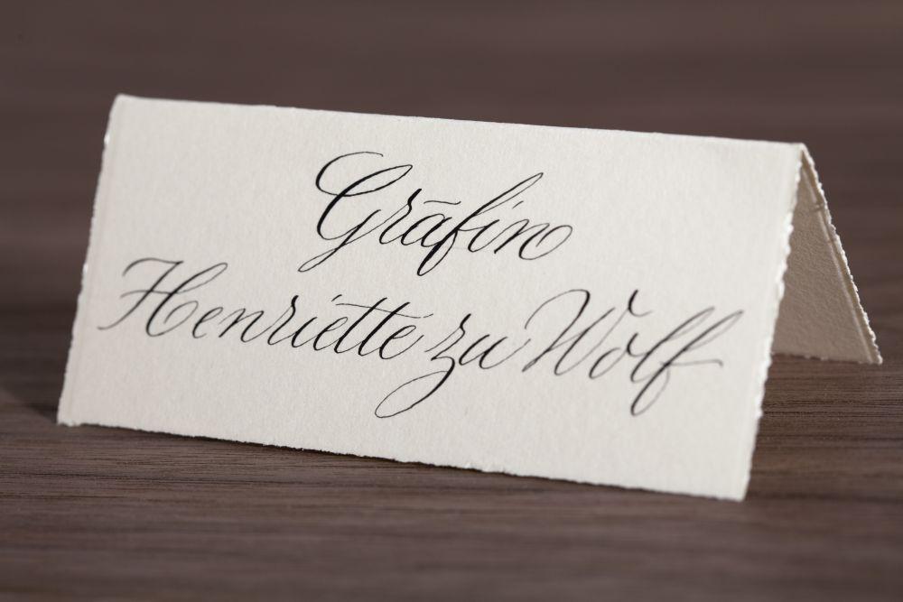 Kalligraphie - Tischkarten 019