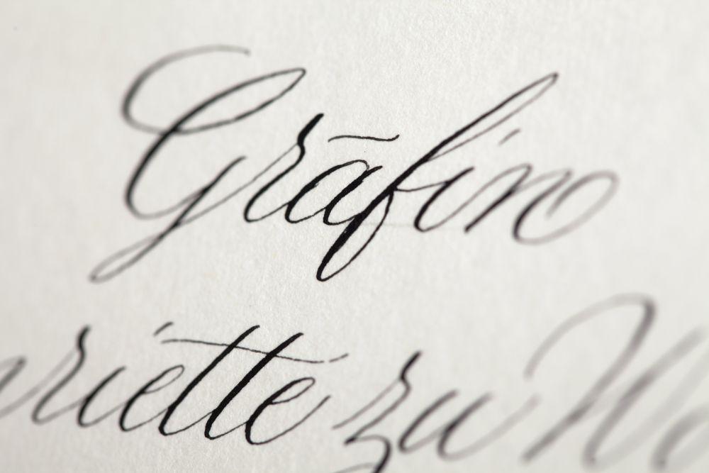 Kalligraphie - Tischkarten 021