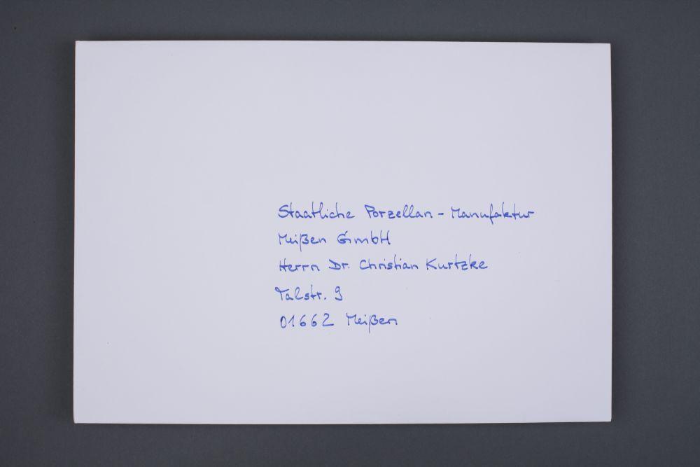 Portfolio - Adressen auf Kuvert 015