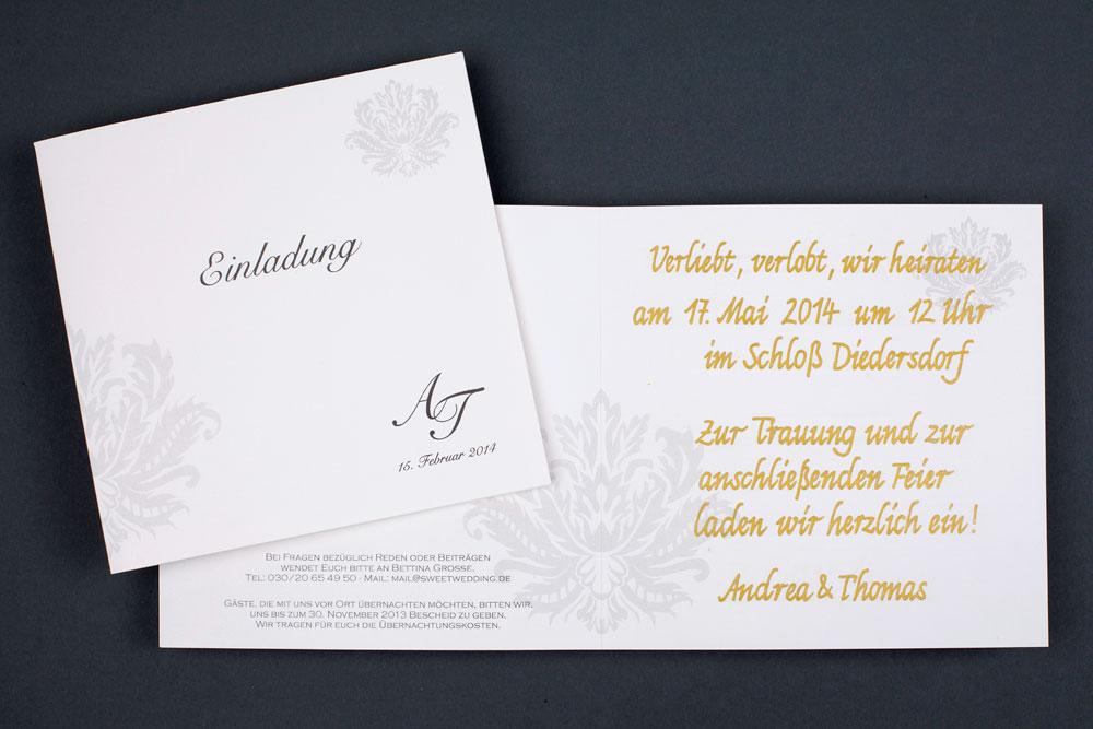 ... Hochzeit Einladungen 033 ...