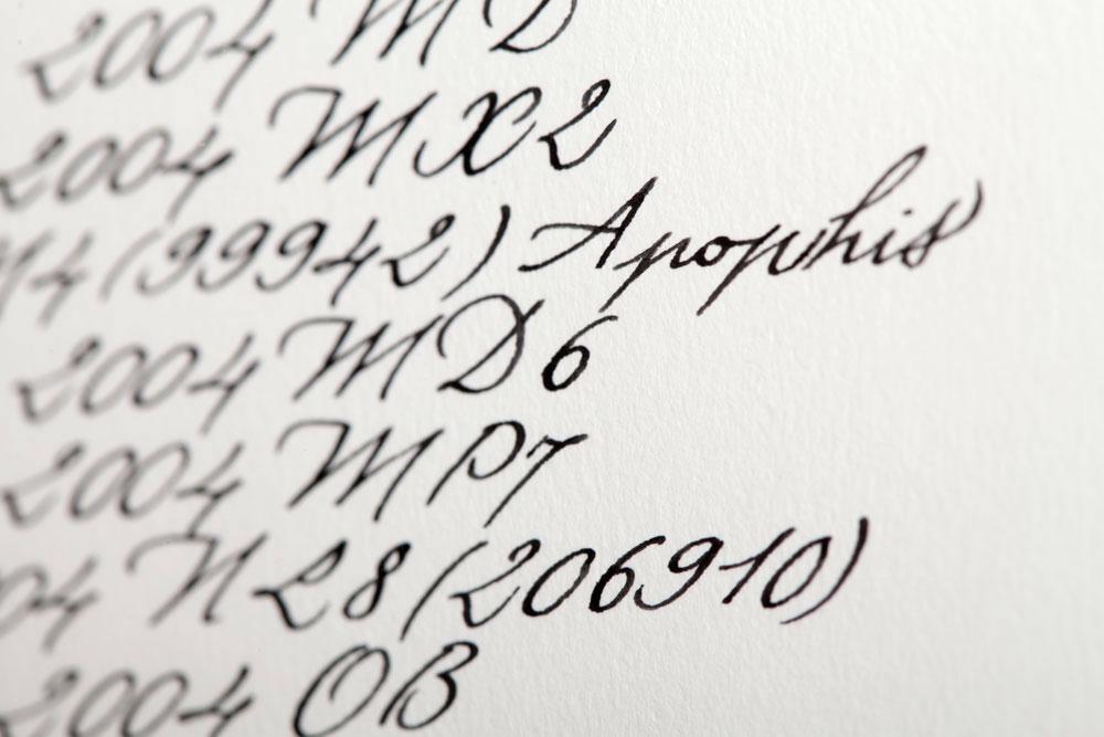 Kalligraphie - Kunstprojekte 019